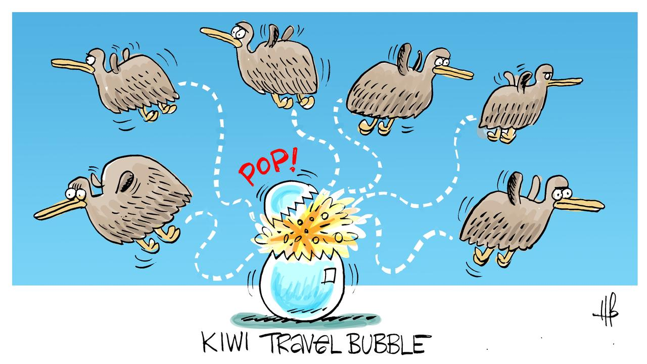Harry's view on the NZ travel bubble.