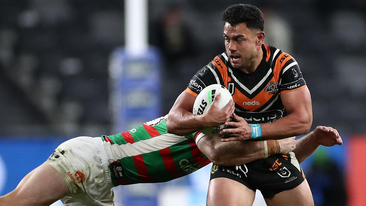 David Nofoaluma had a bumper season for the Tigers.