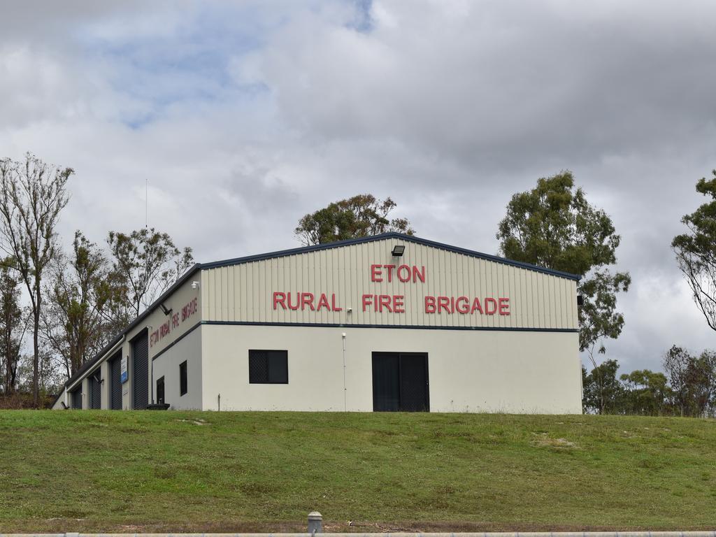 The Rural Fire Brigade building along Telegraph St, Eton. Picture: Heidi Petith