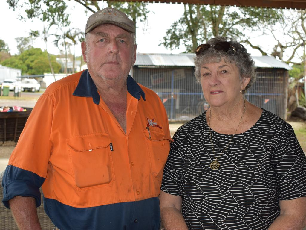 Kinchant Dam residents Bill and Joan Ruffell are concerned about Queensland Ambulance Service's response times in an emergency. Picture: Heidi Petith