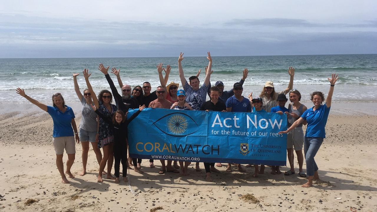 COMMUNITY ACTION: A group of Bundaberg residents took part in the Come Join Our Watch campaign, delivered by CoralWatch and The University of Queensland.