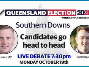 Southern Downs live debate: Candidates go head-to-head ahead of 2020 QLD election