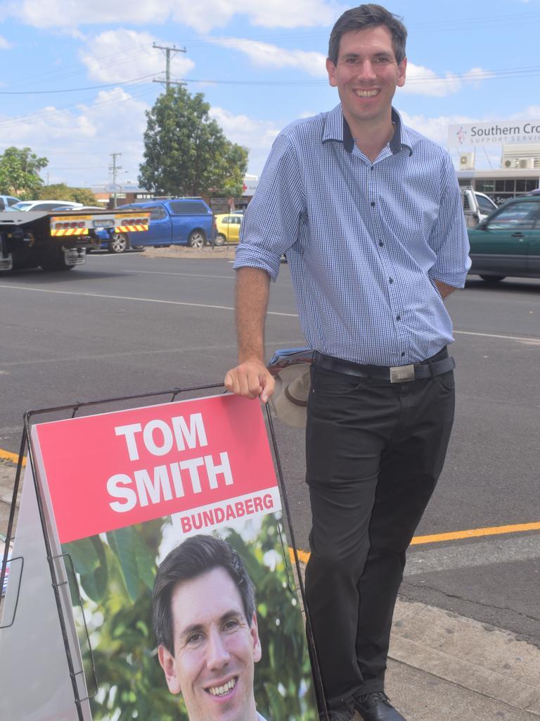 Labor candidate for Bundaberg Tom Smith.