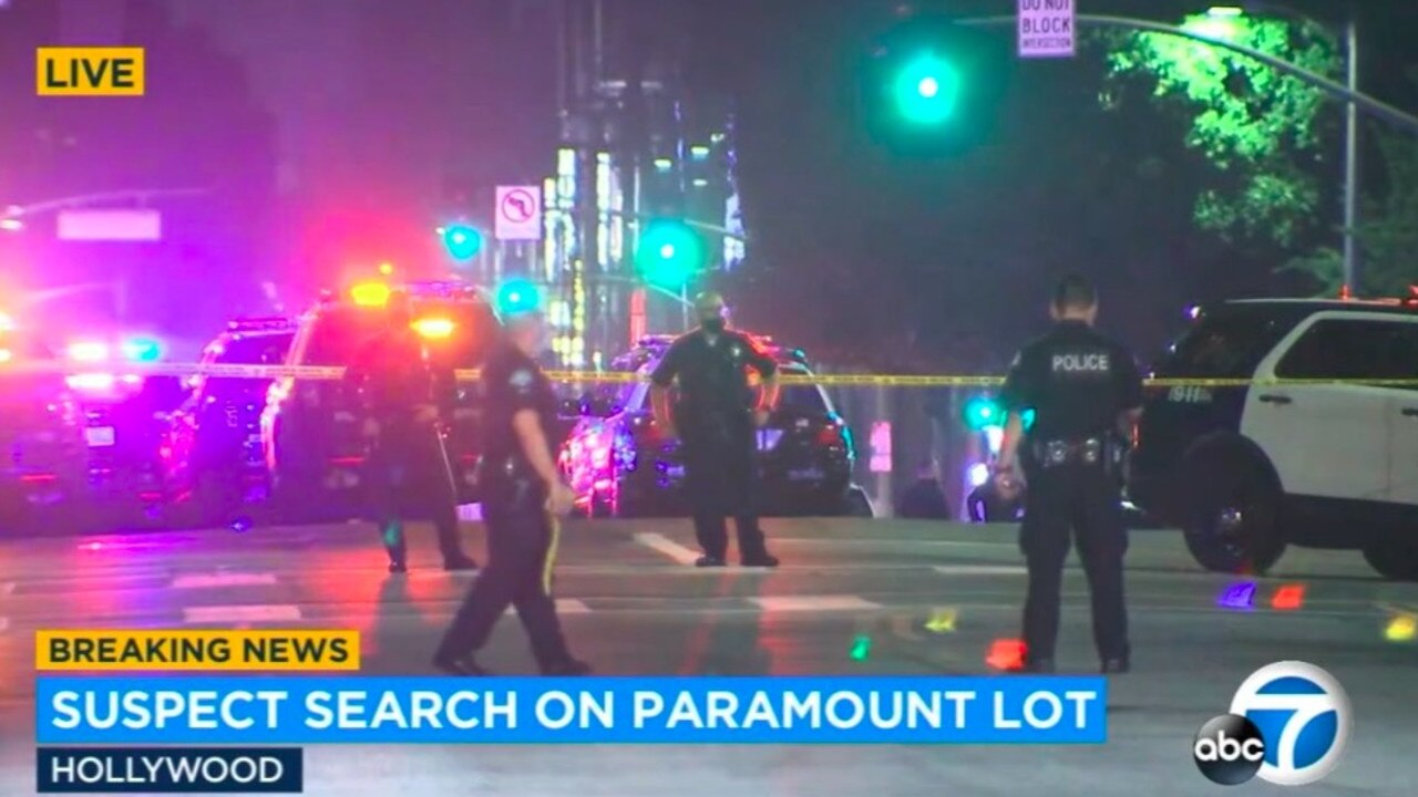 Man suspected in sex assault case barricaded inside Paramount Pictures lot