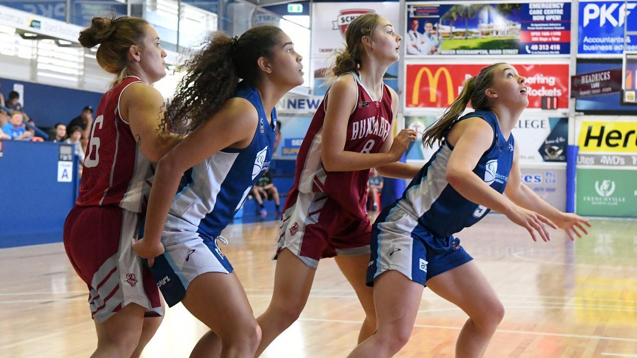 The Rockhampton Cyclones scored a 17-point win over Bundaberg at Adani Arena on Sunday. Photo: Jann Houley