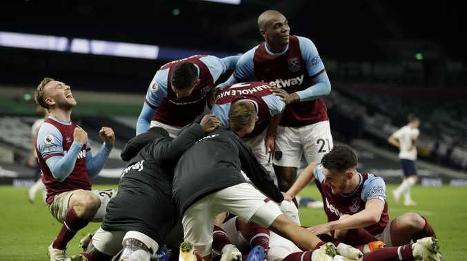 Football 'can't believe what just happened'