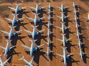 Eerie photos of Aussie plane 'graveyard'