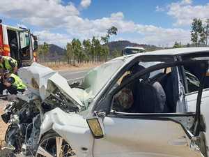 BREAKING: Woman dies after horrific Gympie head-on crash