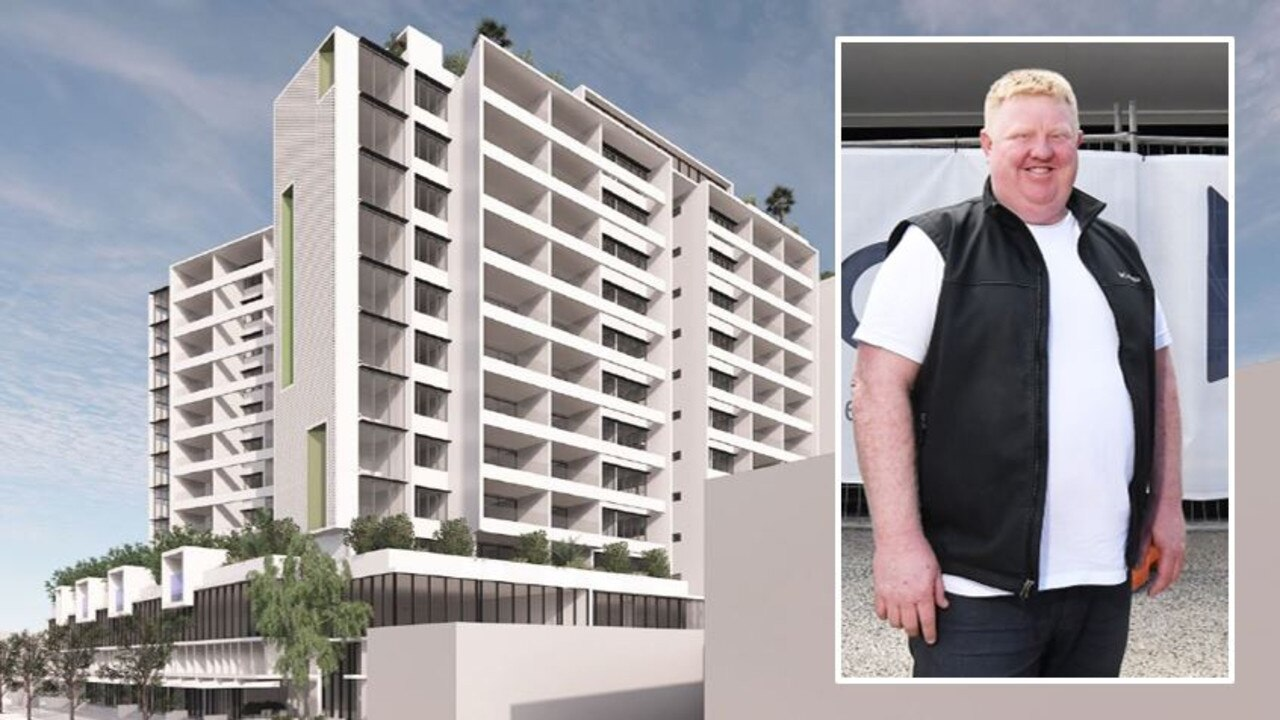 Ocean St eatery Junk owner, Scott Hoskins, said says he looks forward to the day the 12-storey apartment block is built in the precinct. Picture: Supplied/Patrick Woods
