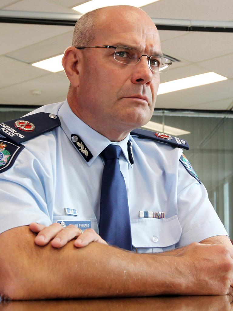 Former Queensland Assistant Police Commissioner Graham Rynders.