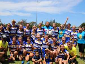 'The monkey is off their back' after women's NRRRL win