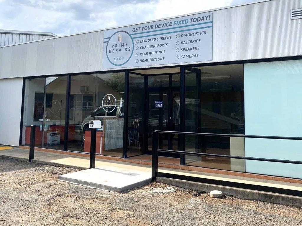 The new Prime Repairs store in Roma. Pic: Tuqeri Davis, Roma Community Discussion