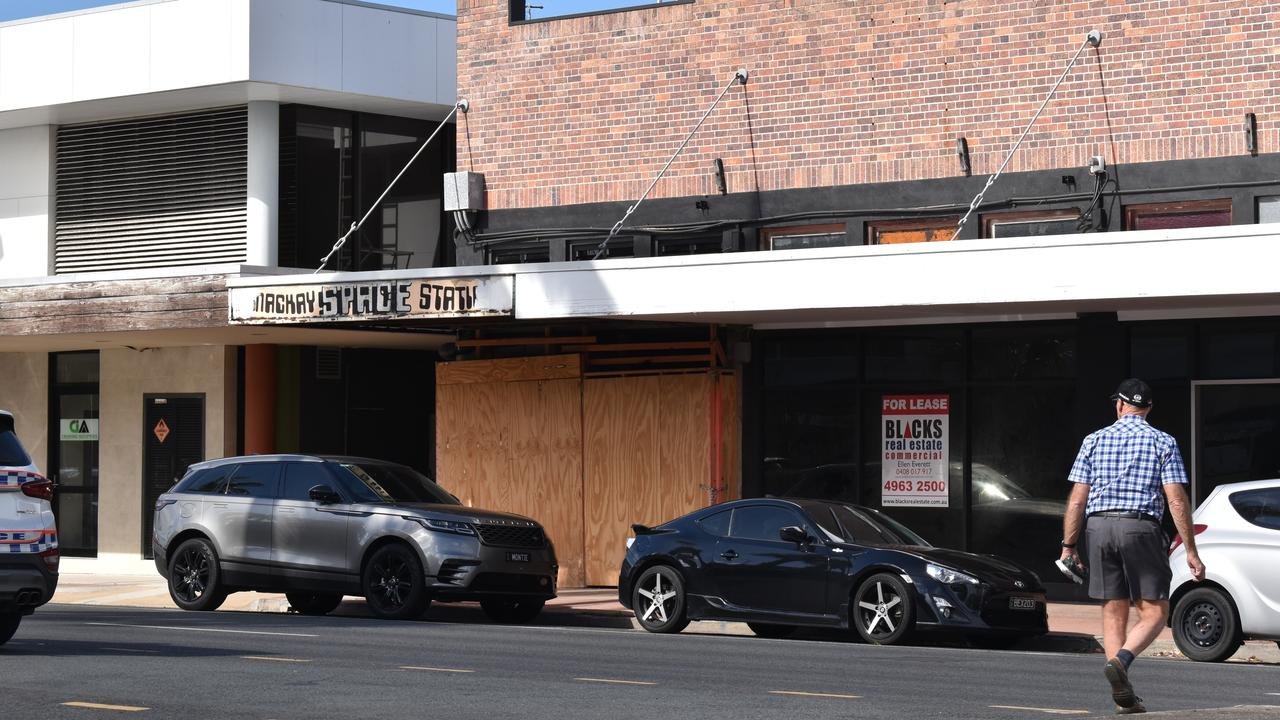 51 Sydney St was one of the many empty retail and commercial spaces in Mackay's CBD in September 2020. Picture: Zizi Averill