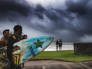 Showers, storms on cards for Coast as wet week forecast