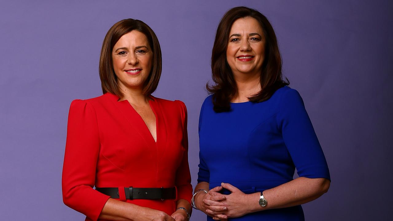 Deb Frecklington and Premier Annastacia Palaszczuk will face voters in the People's Forum. Picture: Adam Head