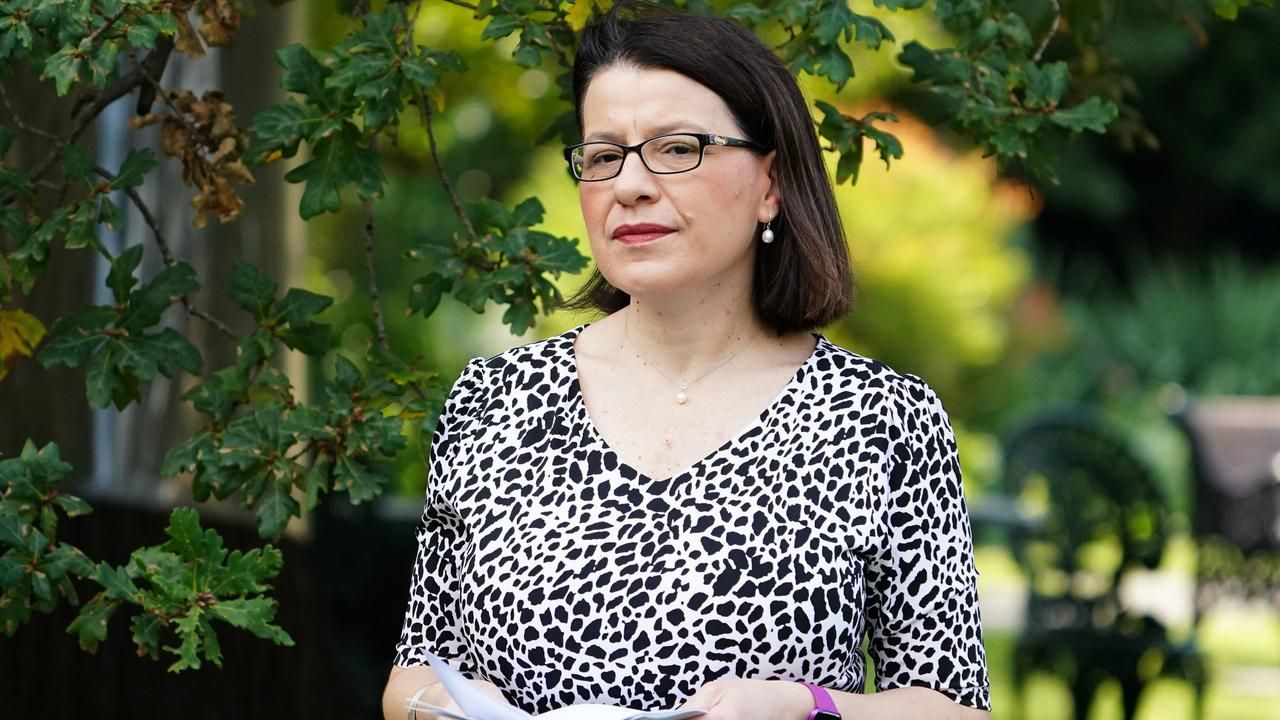 Former Victorian Minister for Health Jenny Mikakos has urged the board to disregard Premier Andrews' evidence about private security. Picture: AAP/Scott Barbour