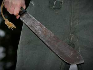 Man pleads guilty to machete robbery