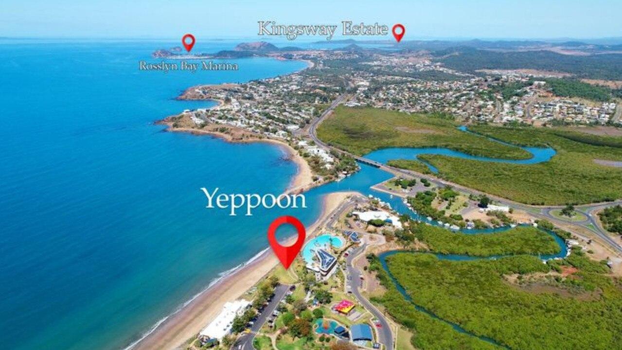 The Kinka Beach estate is 11km from the Yeppoon CBD.