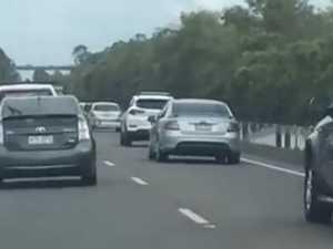 Rider injured, traffic delayed after peak-hour crash