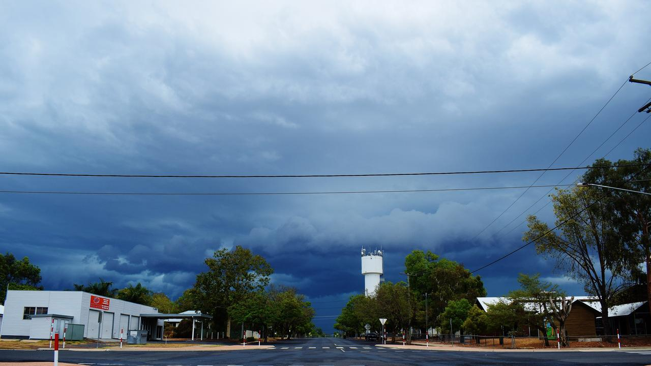 INCOMING: Areas of Western Downs set for 80ml drenching. Pic: Peta McEachern