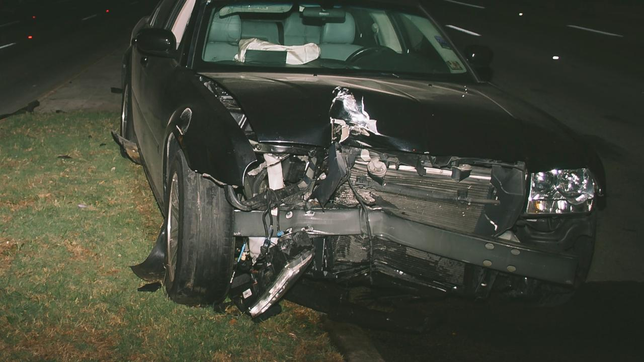 A man who crashed his car has pleaded guilty to mid range pca.