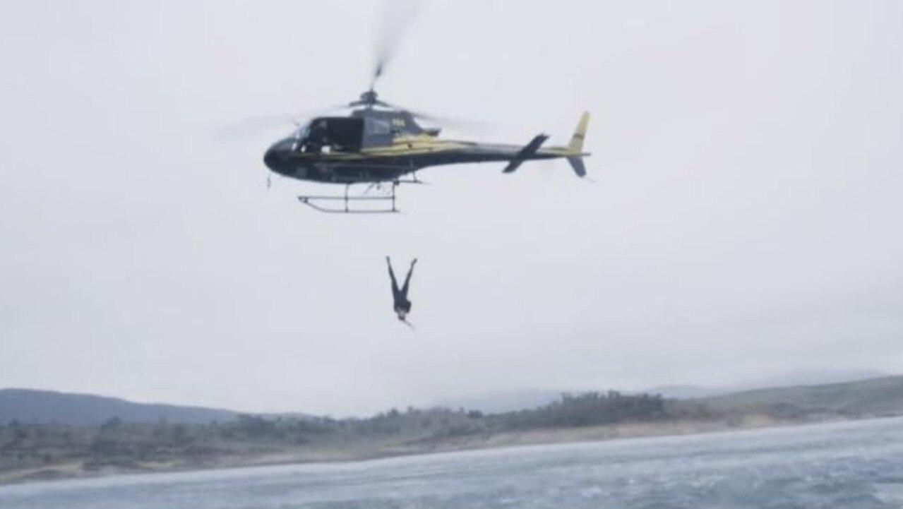 Schapelle Corby's leap.