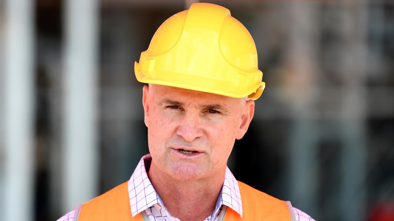 Regional Development Minister Glenn Butcher announced that if elected the Labor Party would guaranteeing nearly $20 million in works for Queensland projects in the Mackay region over the next six years. Picture: Dan Peled