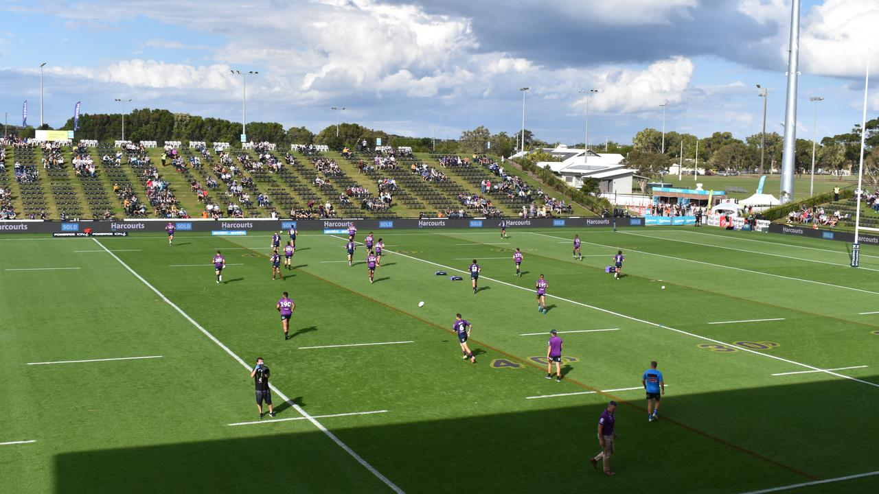 Melbourne Storm internationals Cameron Munster, Josh Addo-Carr and Jahrome Hughes all said they could see the Sunshine Coast having its own NRL team in the future.