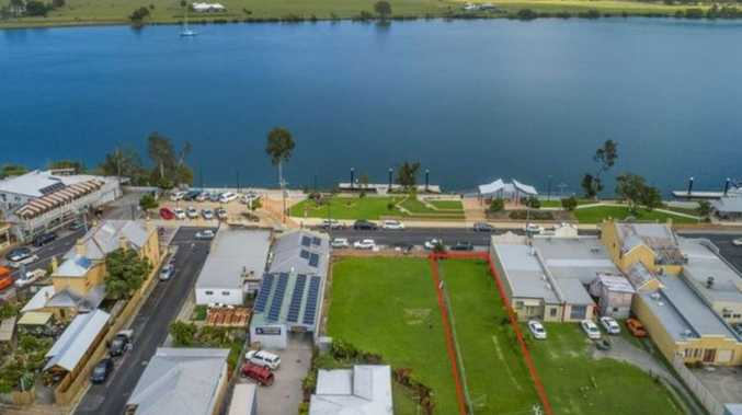 Riverfront site snapped up for under $350K