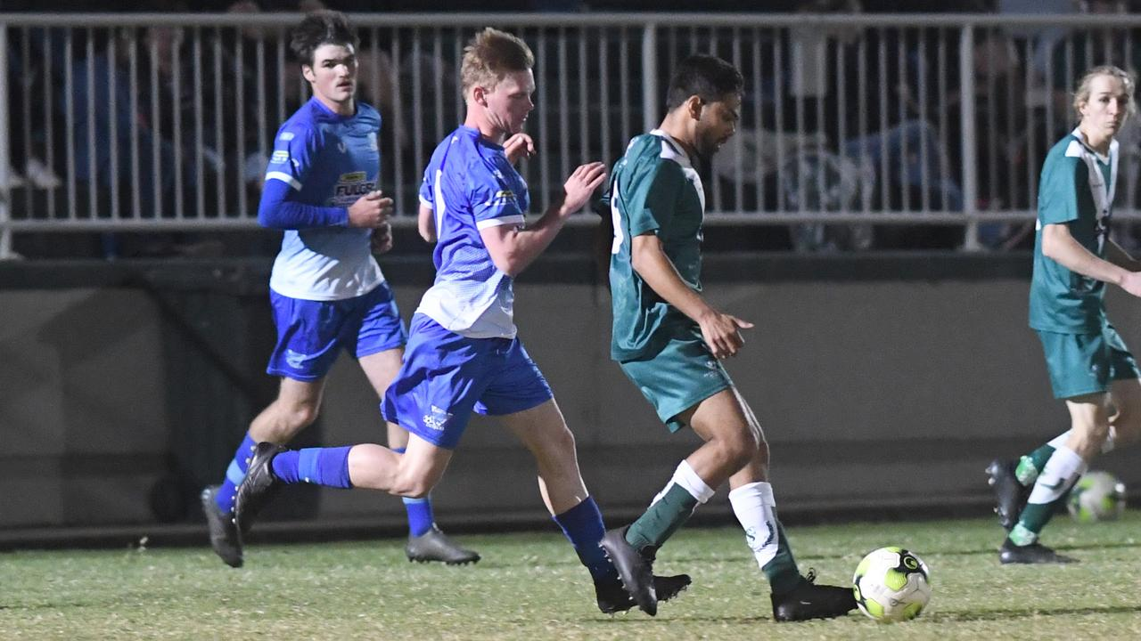 Frenchville will do battle with Bluebirds United in the CQ Premier League major semi-final on Saturday. Photo: Jann Houley