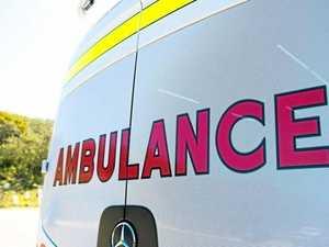 Man injured as paramedics rush to single motorbike crash