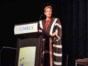 112 'lucky' CQUniversity graduates grace the floor
