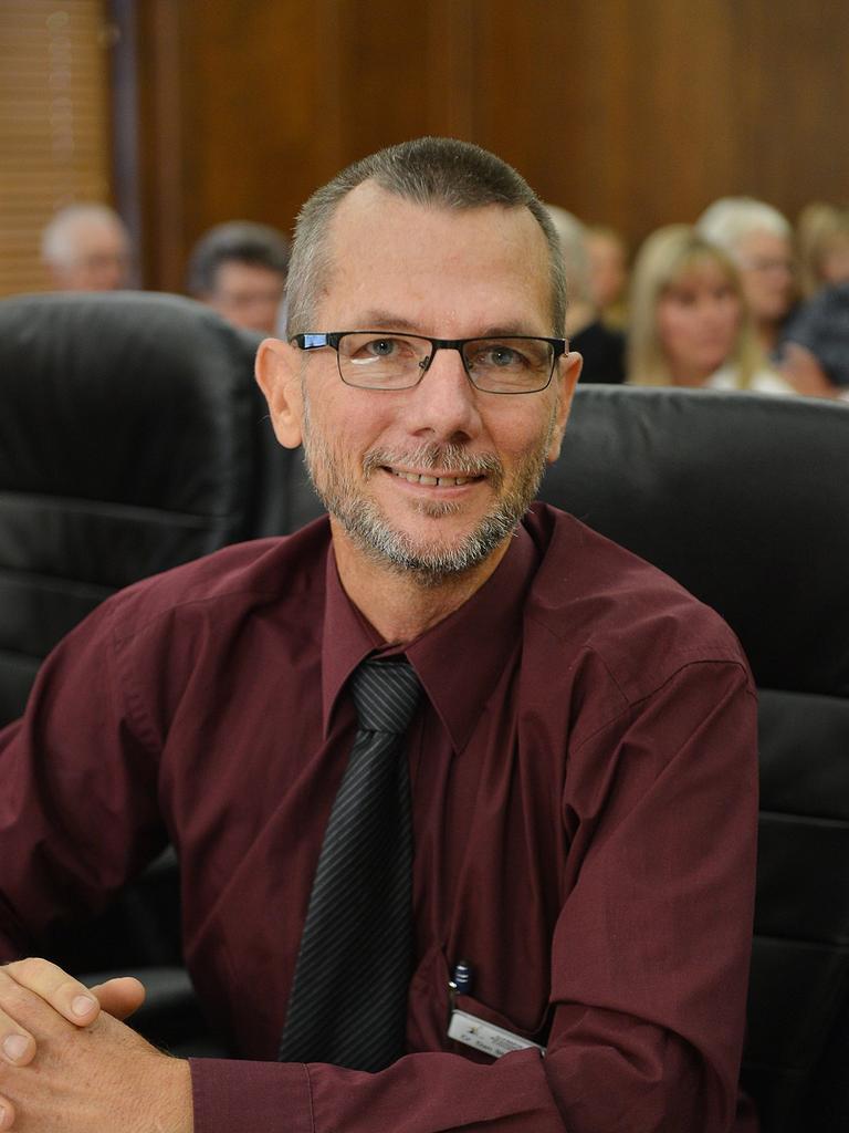 Councillor Dan Stewart. Photo Renee Albrecht/Gympie Times
