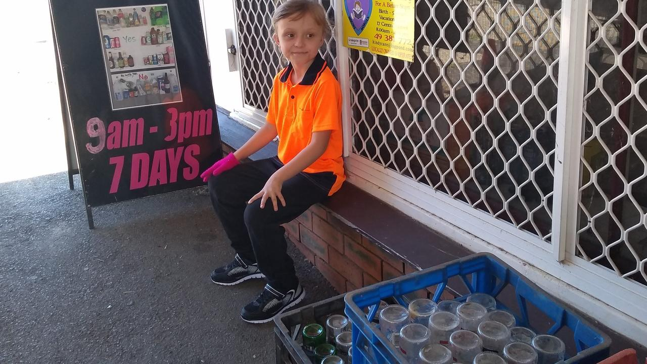 The recycling scheme is popular with many Mount Morgan locals.
