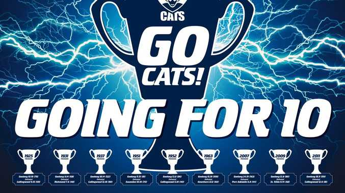 Get your Geelong Cats posters here!