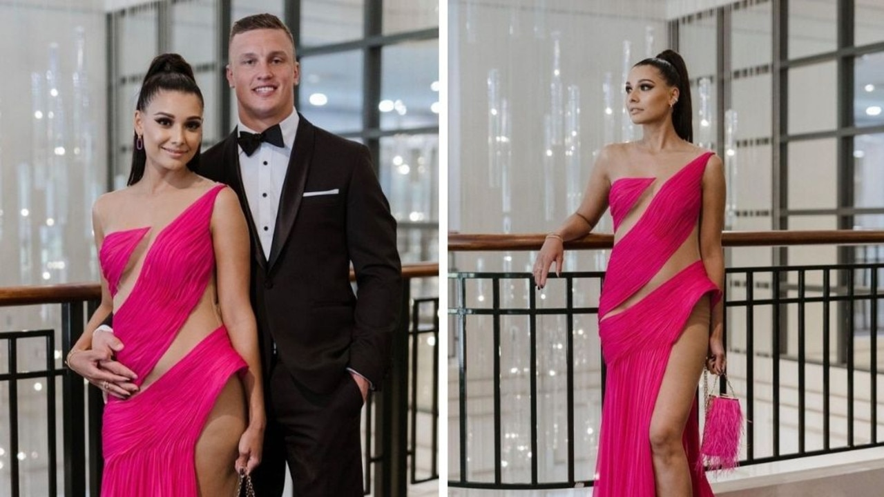 Jack Wighton and partner Monisha.