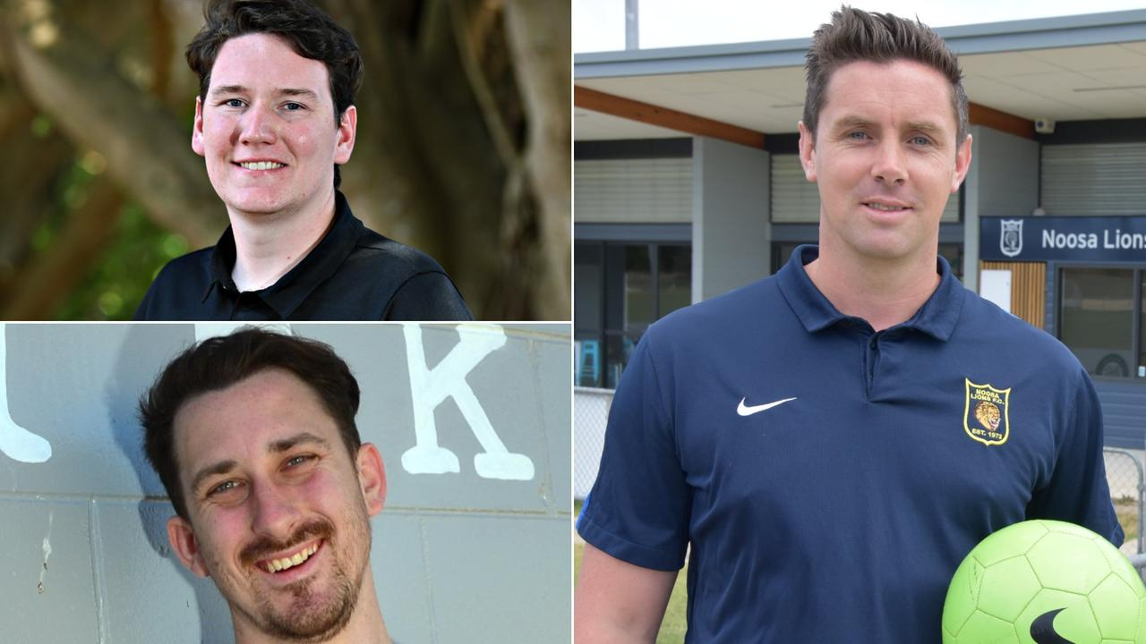 Sunshine Coast football coaches Gareth Thomson, Dan Carew and Kevin A'herne-Evans have all accepted new roles for 2021.