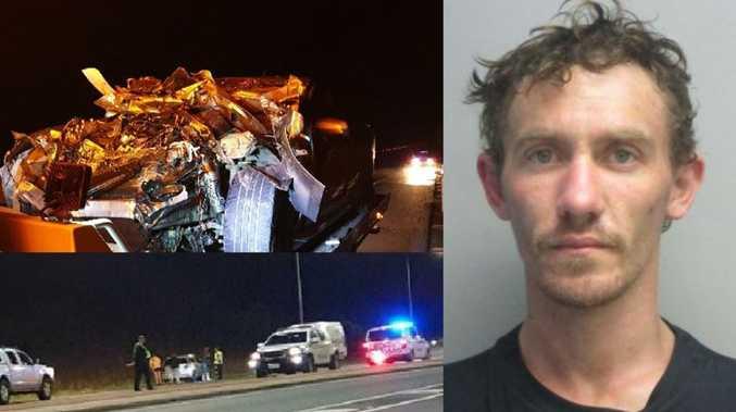 BREAKING: Manhunt underway for crash victim who fled scene