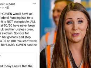 LNP campaigner's vile slurs against Labor MP