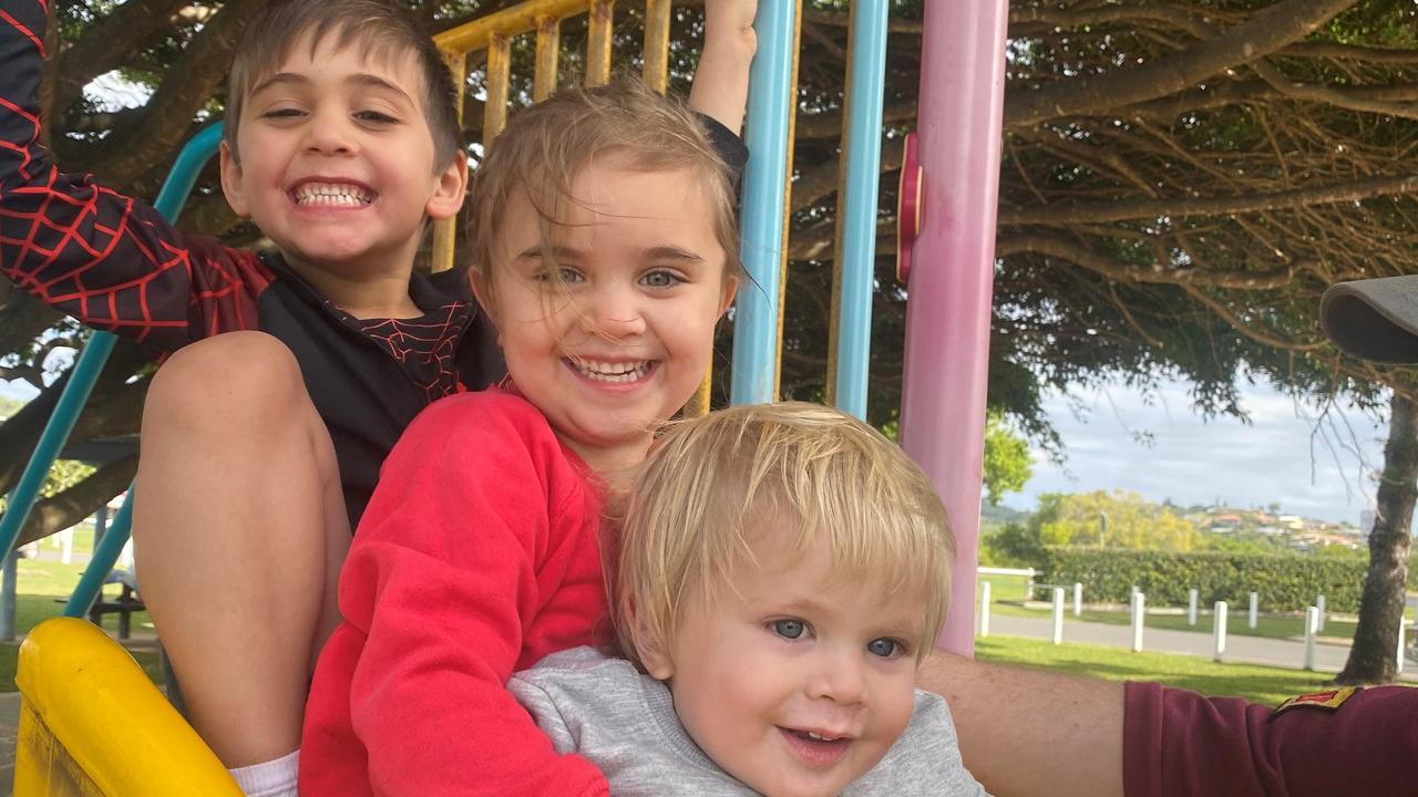 Arthur with his older siblings.