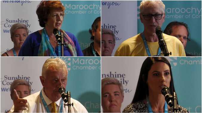 REPLAY: Maroochydore candidates go head to head
