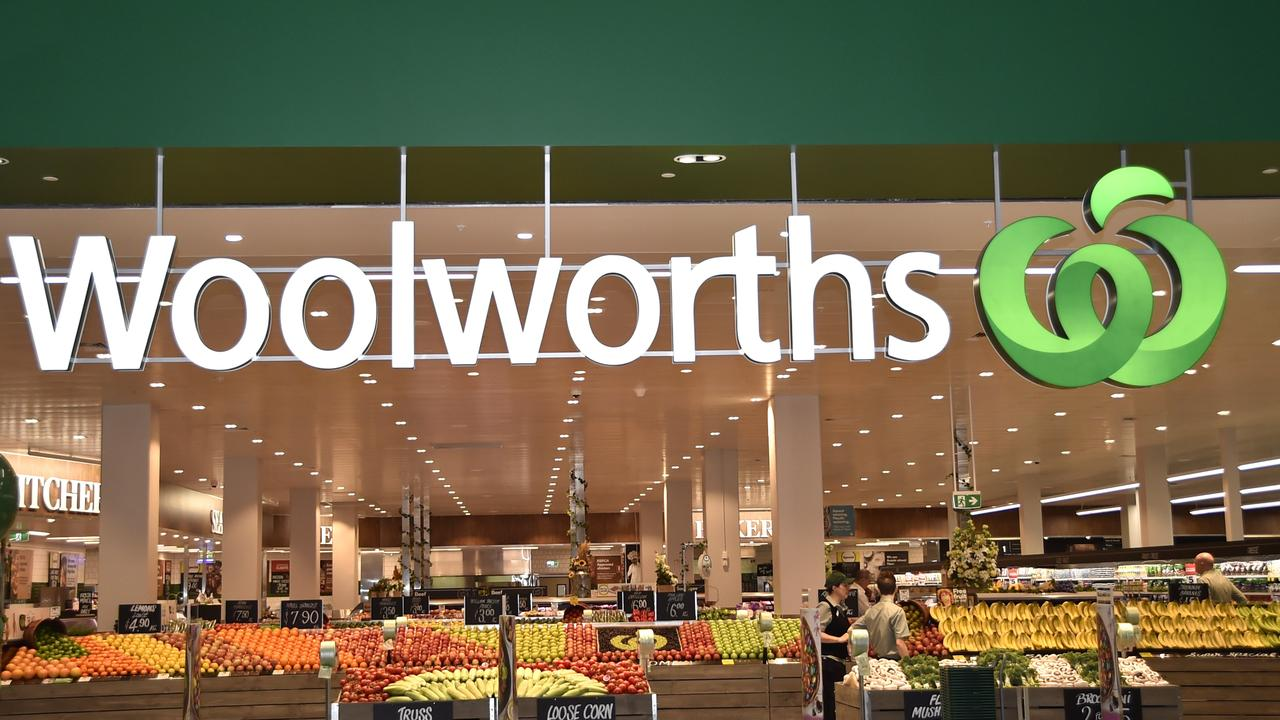 A Gladstone woman punched her niece at a local Woolworths.
