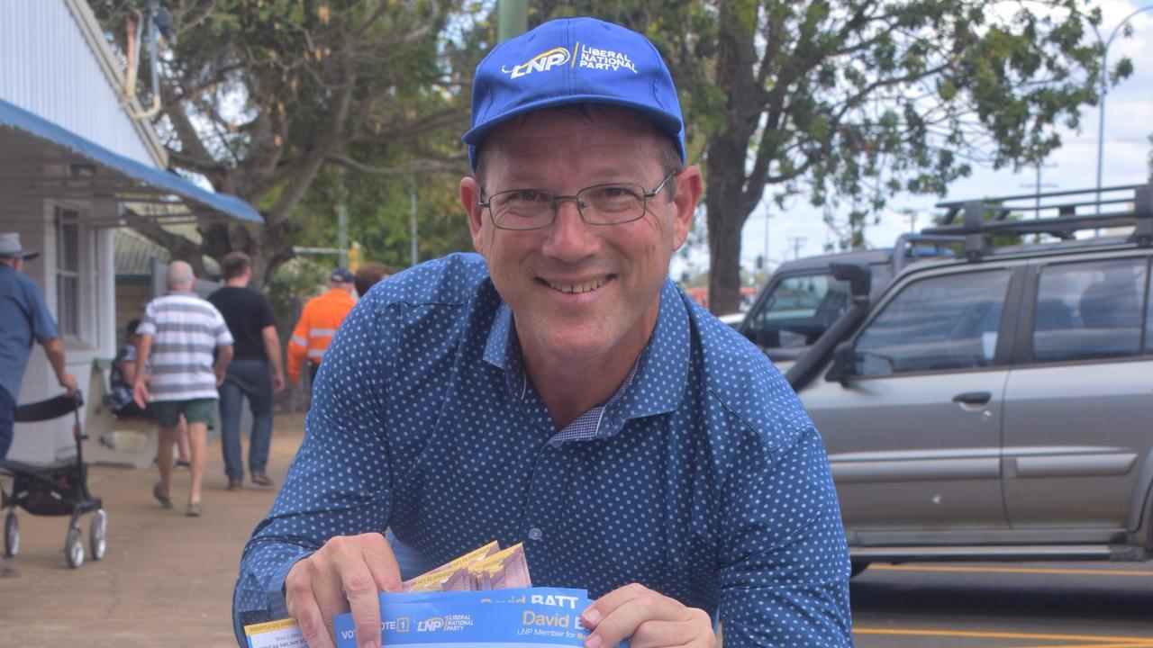 LNP incumbent David Batt.