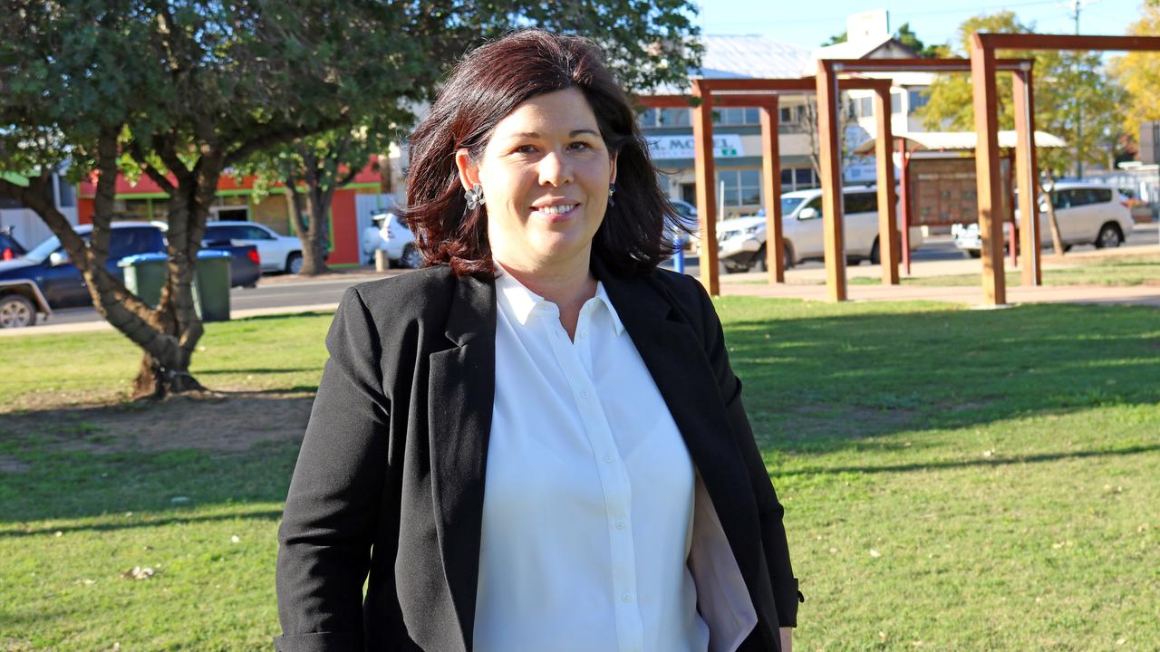 Balonne Shire Mayor Samantha O'Toole