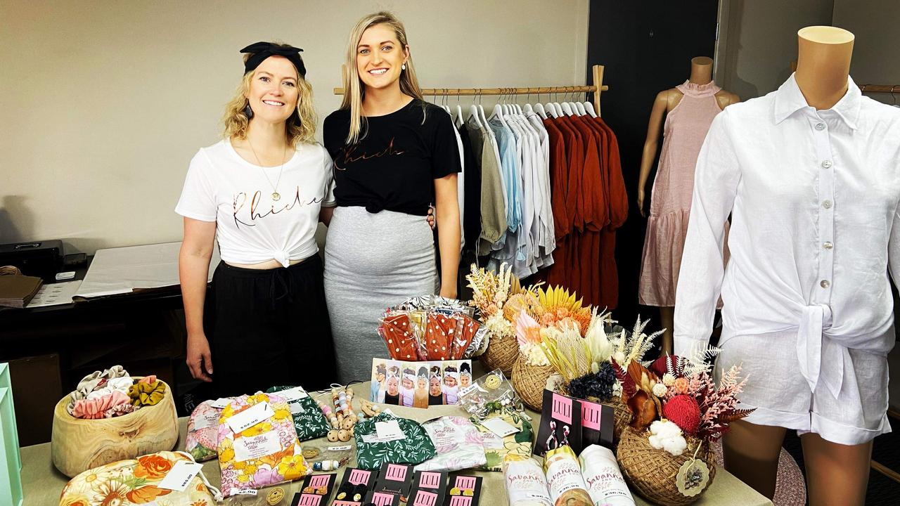 Rhiannon Rowe and Chelsea Devine have opened Rhiche, a clothing and homewares store in Dysart, after holding a pop-up shop earlier this year.
