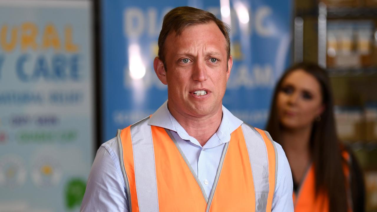 Queensland Deputy Premier and Health Minister Steven Miles. Photo: Dan Peled.
