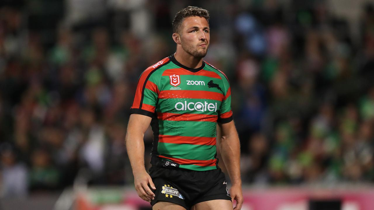 Sam Burgess in his playing days.