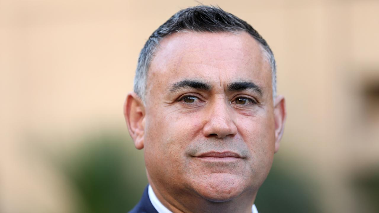 John Barilaro said he is worried for Premier Gladys Berejiklian's mental health. Picture: NCA NewsWire/Damian Shaw