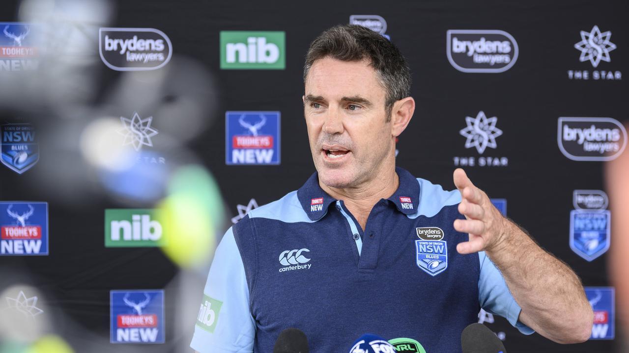 NSW Blues Origin coach Brad Fittler. Picture: Darren Leigh Roberts