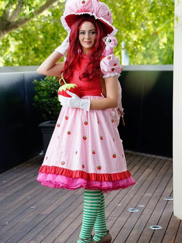 Lauraine as Strawberry Shortcake. Picture taken by Sudeep Shakya